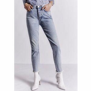 NWT Current/Elliott Jeans Ultra High Rise Skinny